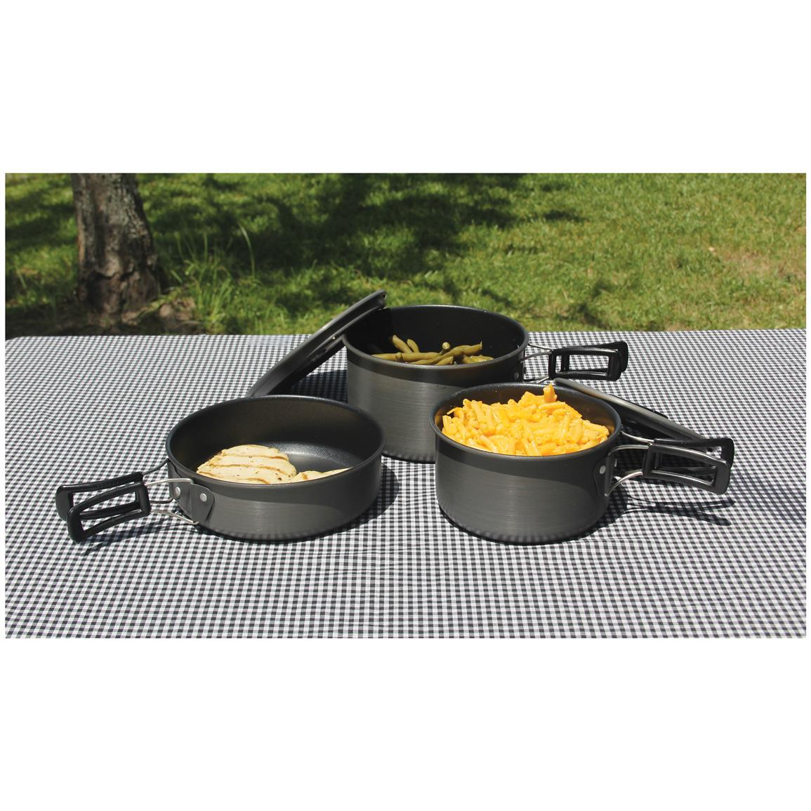Triple coat Quantum2 non-stick surface