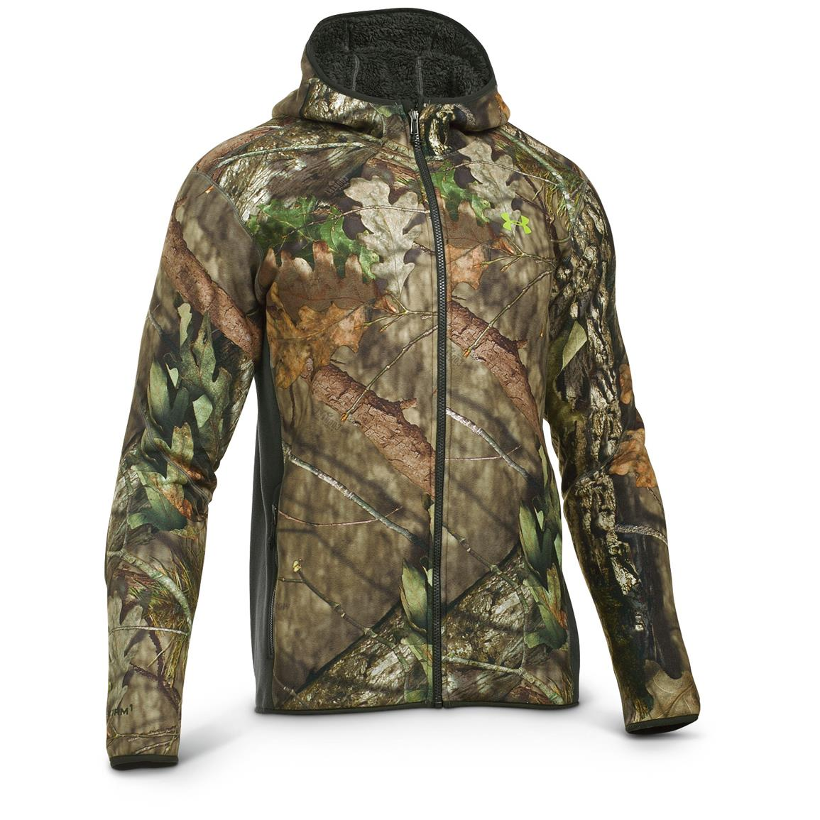 Under Armour Men's Stealth Hoodie, Mossy Oak Break-Up Country