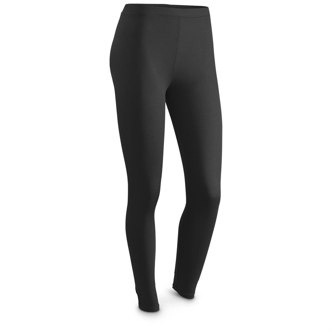 Weatherproof 32 Degrees HEAT Women's Base Layer Bottoms, Black