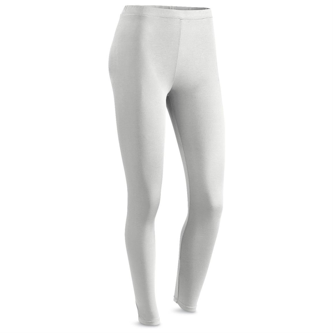 Weatherproof 32 Degrees HEAT Women's Base Layer Bottoms, Vanilla