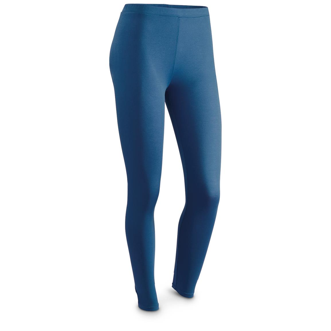 Weatherproof 32 Degrees HEAT Women's Base Layer Bottoms, Earthy Blue