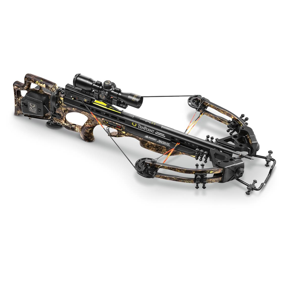 TenPoint Stealth FX4 ACUdraw Crossbow Package and Case