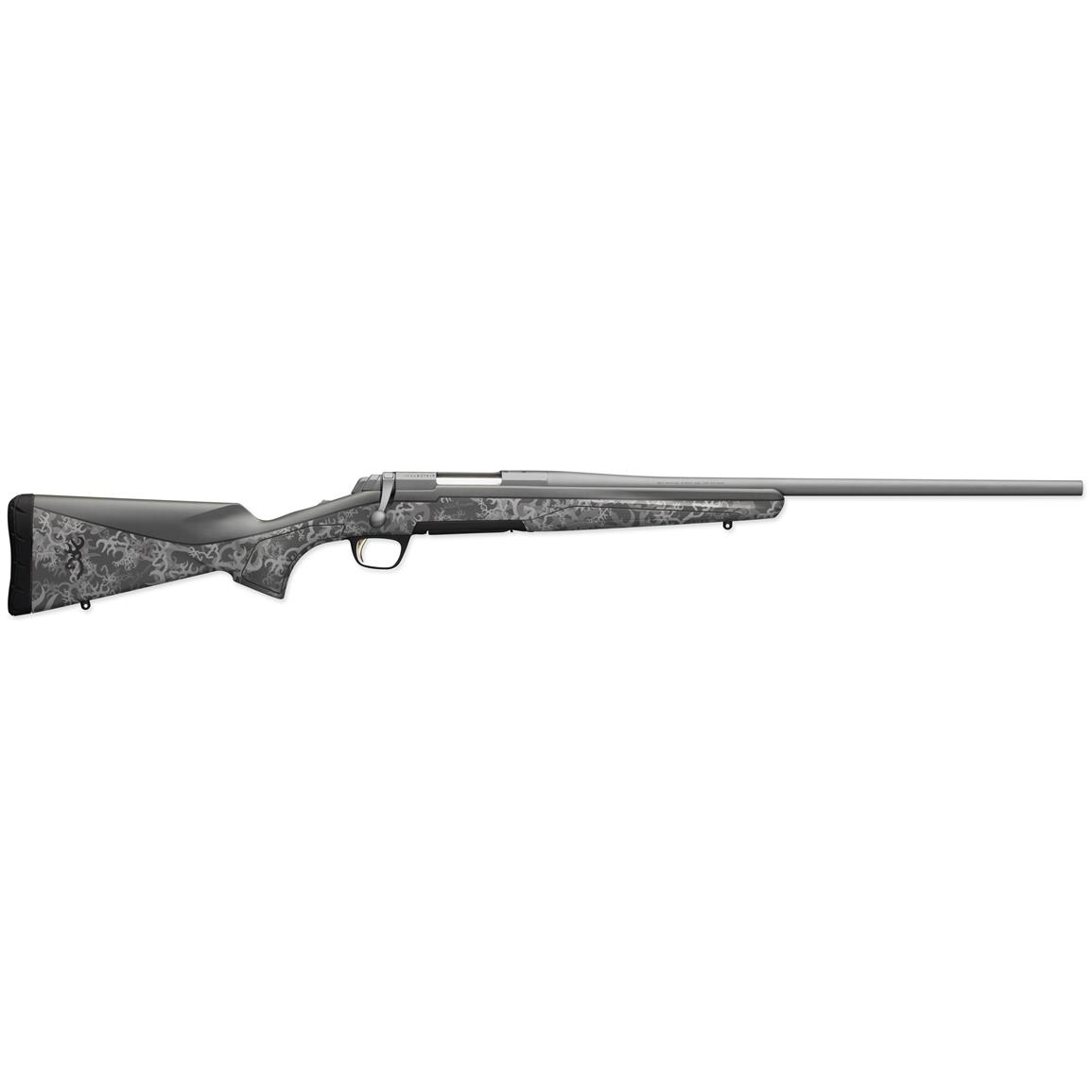 Browning X-Bolt Short Action, .308 Winchester, Centerfire, 035361218, 023614045205, Tactical Gray and 3D Buckthorn Camo Finishes