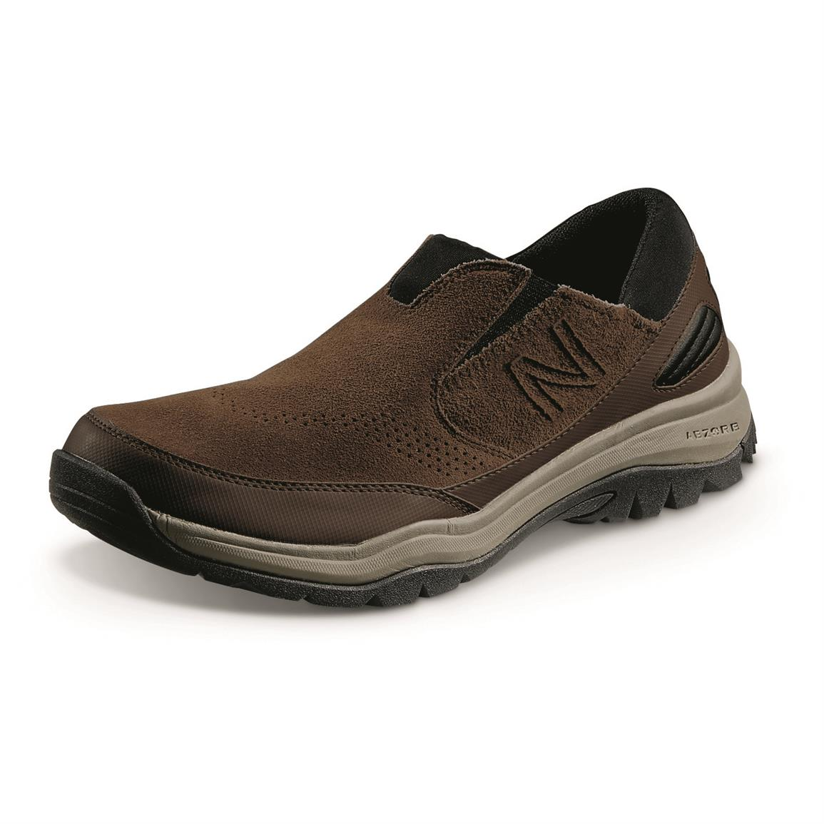 New Balance Men's 770v1 Trail Walking Slip-on Shoes, Brown