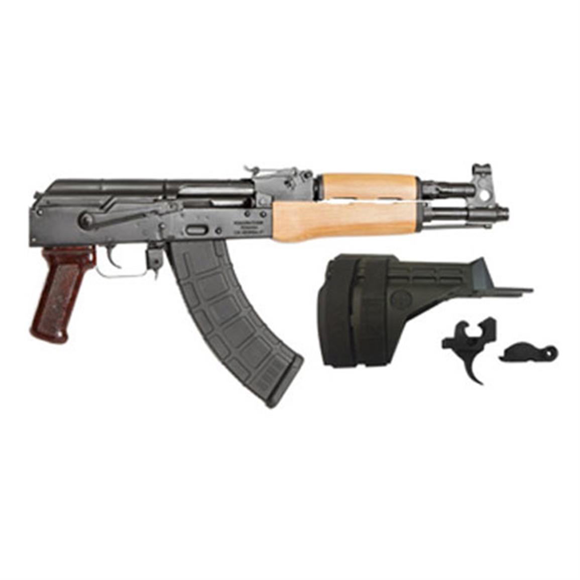 "Century Arms Draco AK Pistol, Semi-automatic, 7.62x39mm, 12.25"" Barrel, 30 Rounds"