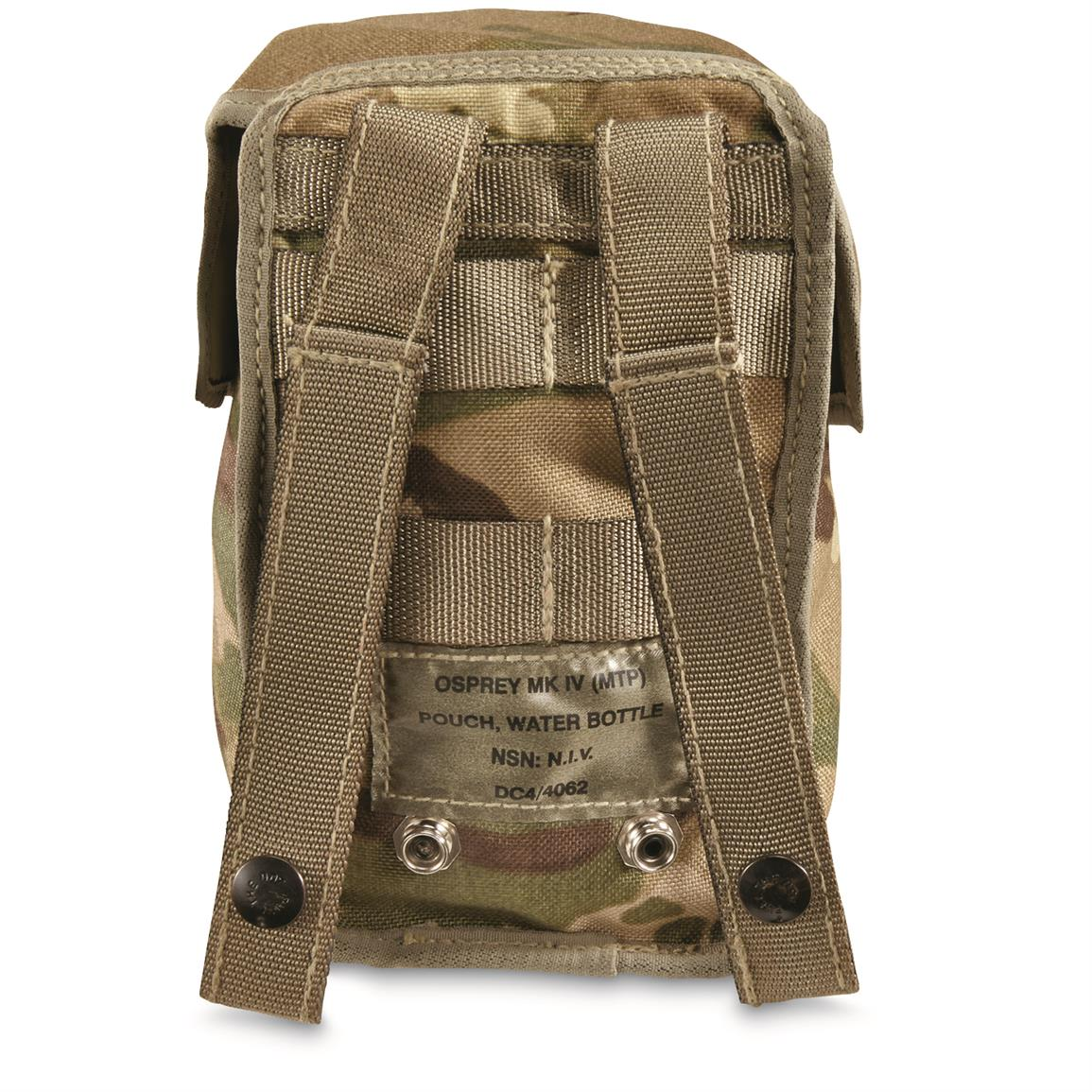 MOLLE straps on back