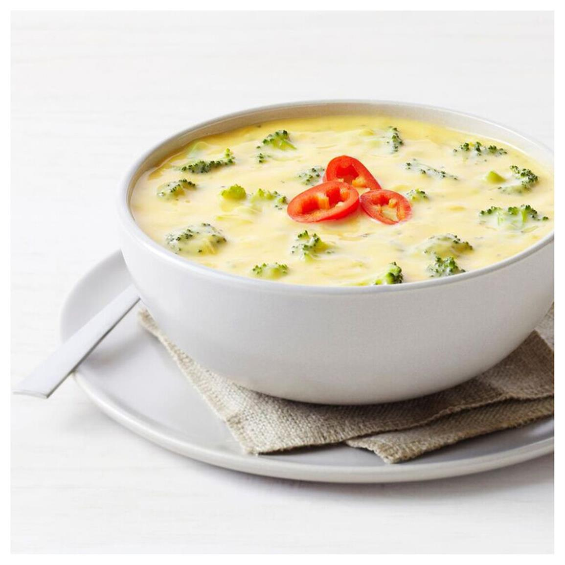 1 can Cheesy Broccoli Soup (33 servings)