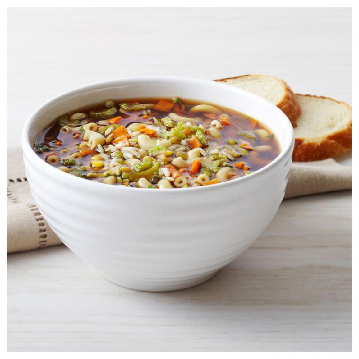 1 can Hearty Vegetable Beef Soup (21 servings)
