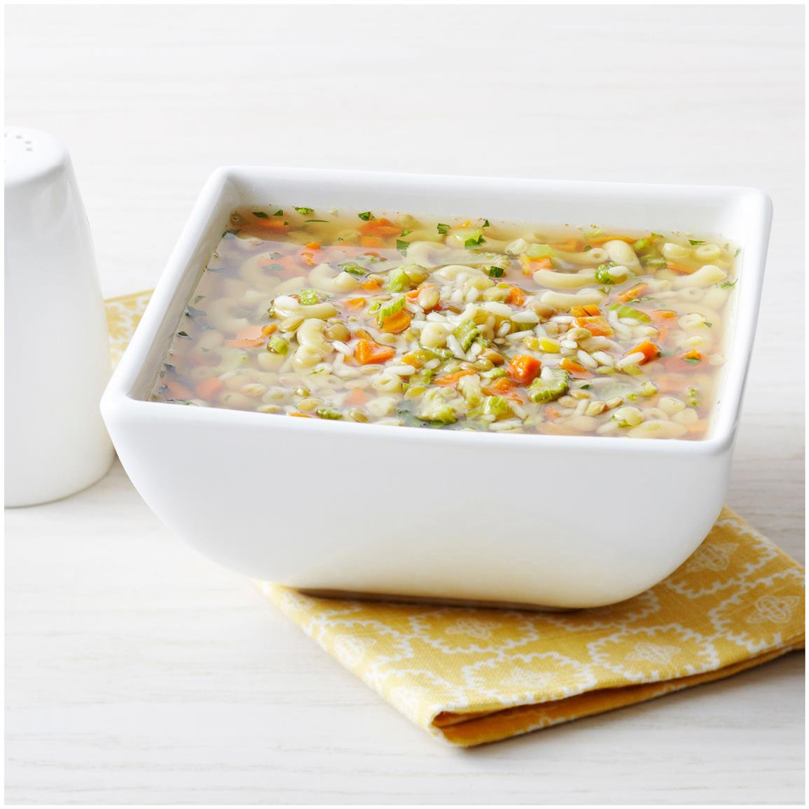1 pouch Hearty Vegetable Chicken Soup (8 servings)