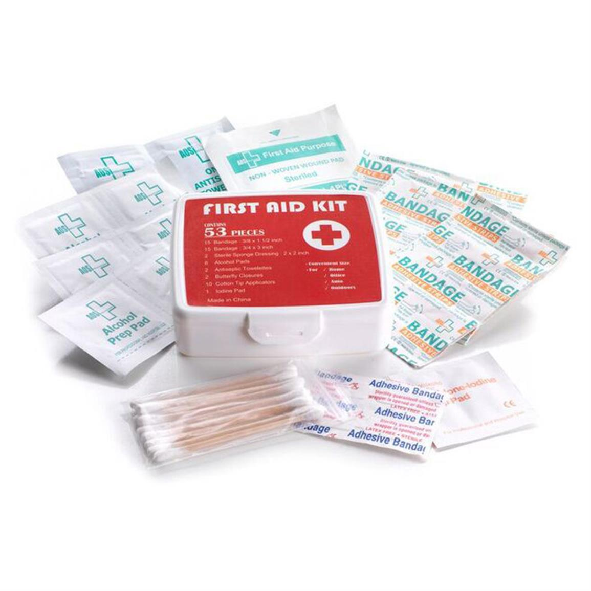 53-piece First Aid Kit