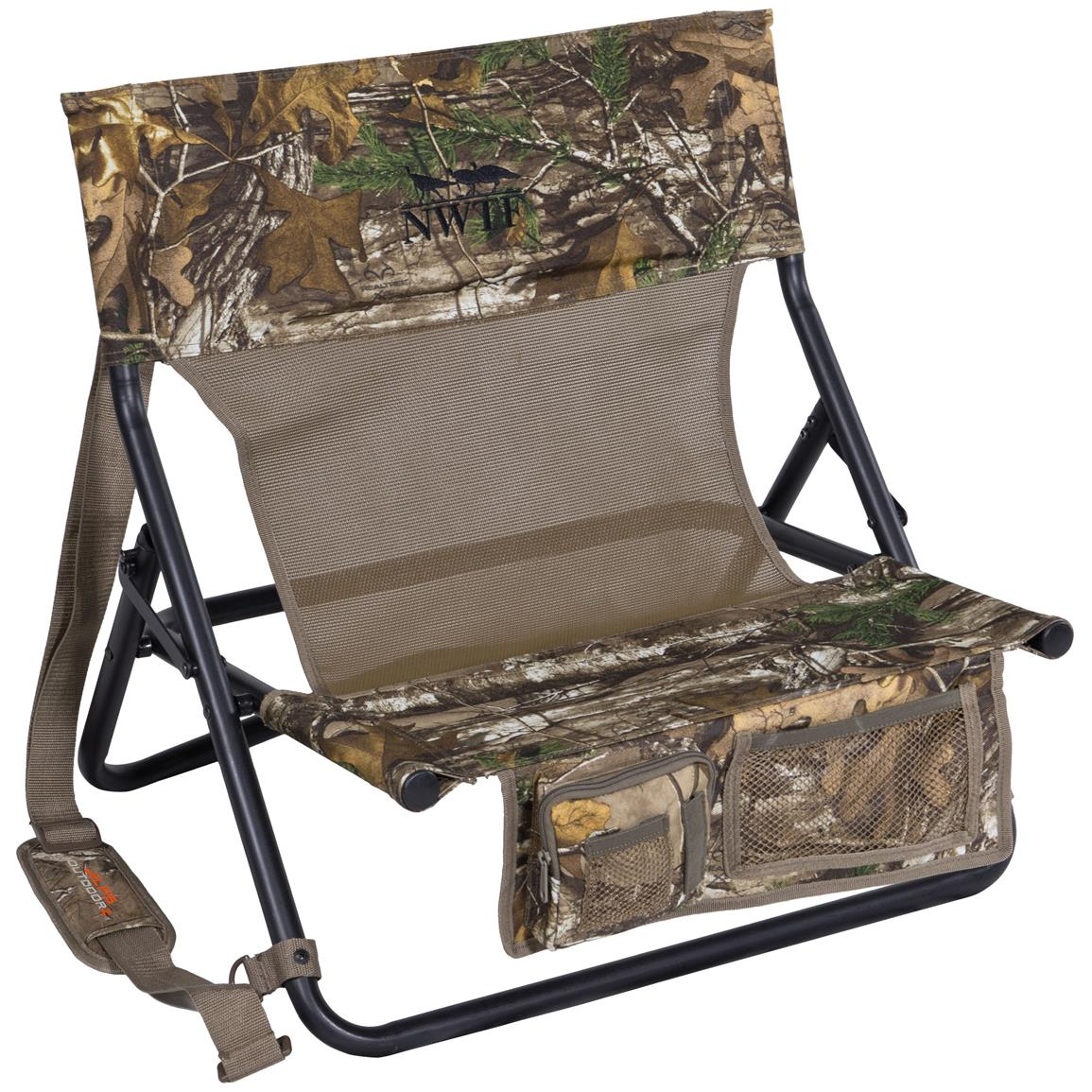 Alps OutdoorZ Turkey Chair MC, Mossy Oak Break-Up Country
