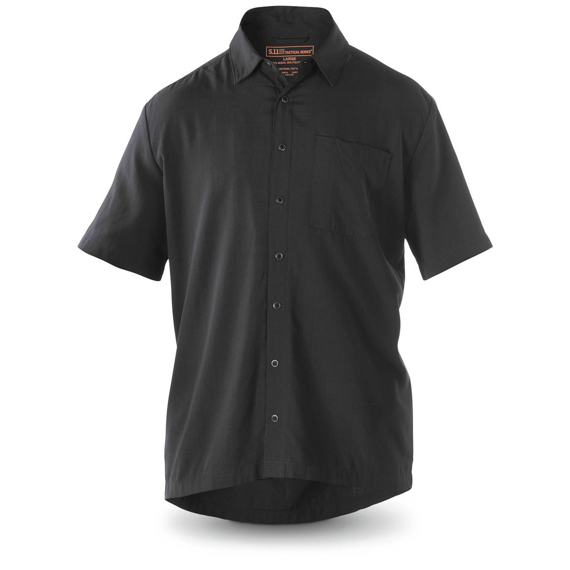 5.11 Select Covert CCW Shirt, Black