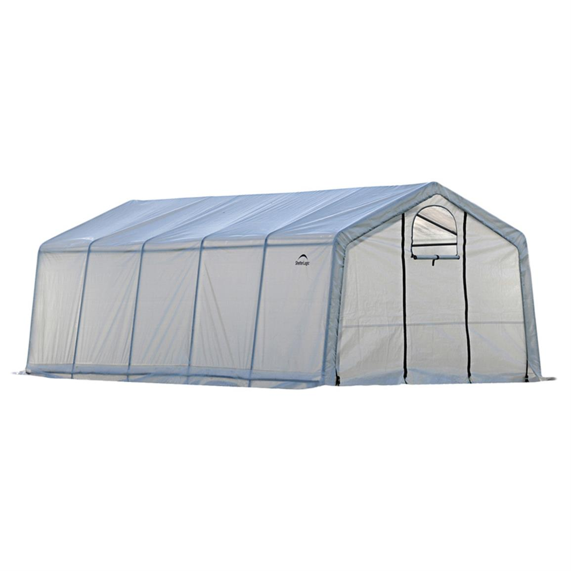 ShelterLogic GrowIT Greenhouse-In-A-Box Pro, 12 foot x 20 foot x 8 foot h