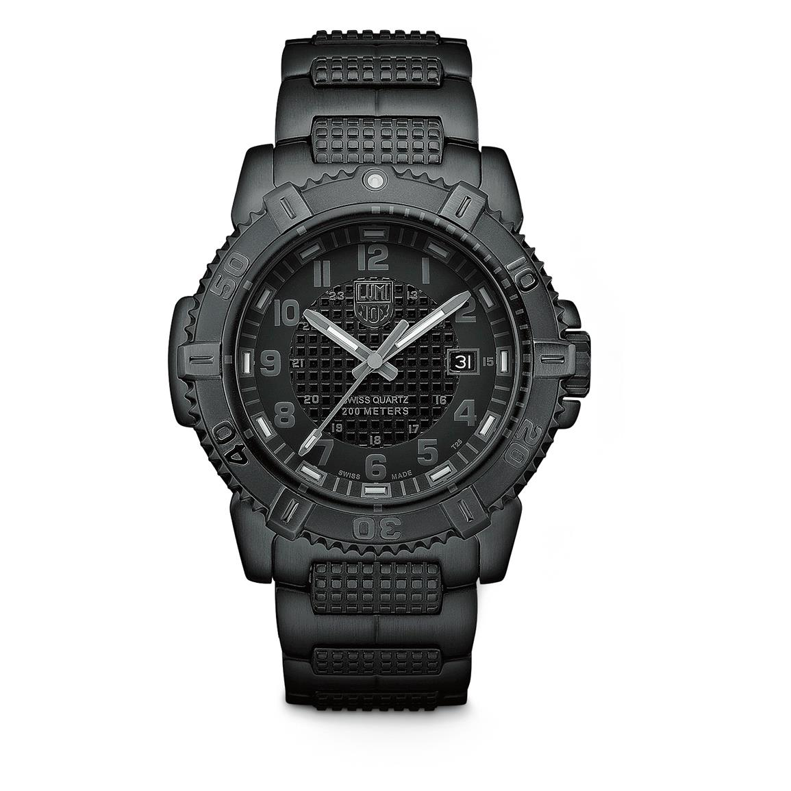 Luminox Men's Modern Mariner 6252 Blackout Watch