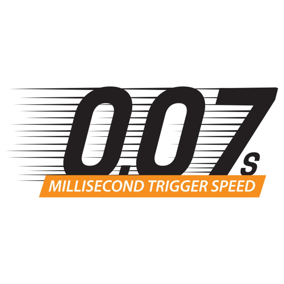 0.07 millisecond trigger speed