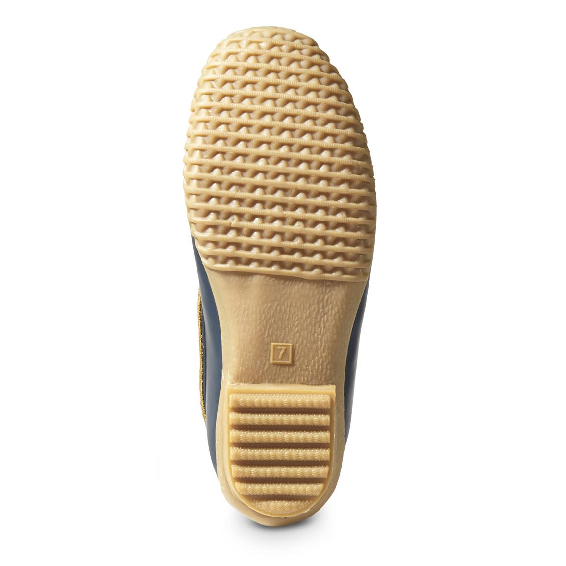 Rubber shell outsole