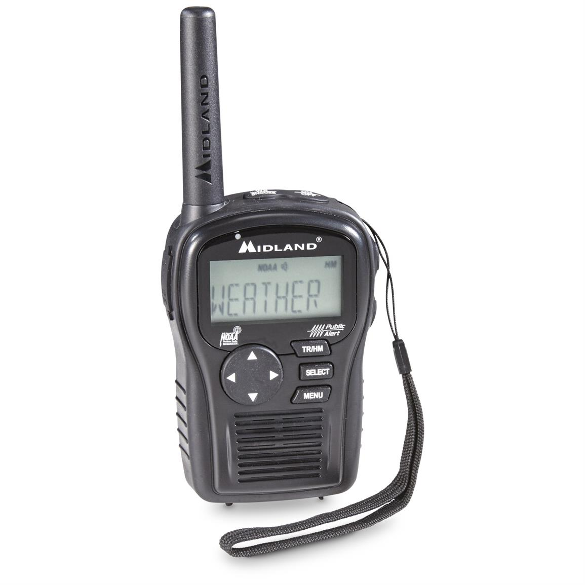 Midland EH55VP E+READY Portable Weather Alert Radio