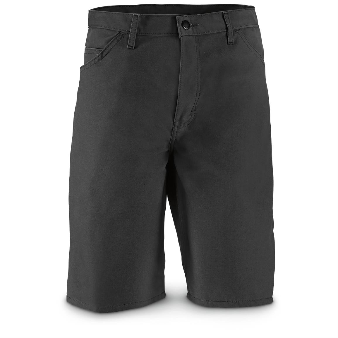 Dickies Men's Carpenter Shorts, Slight Irregulars, Black
