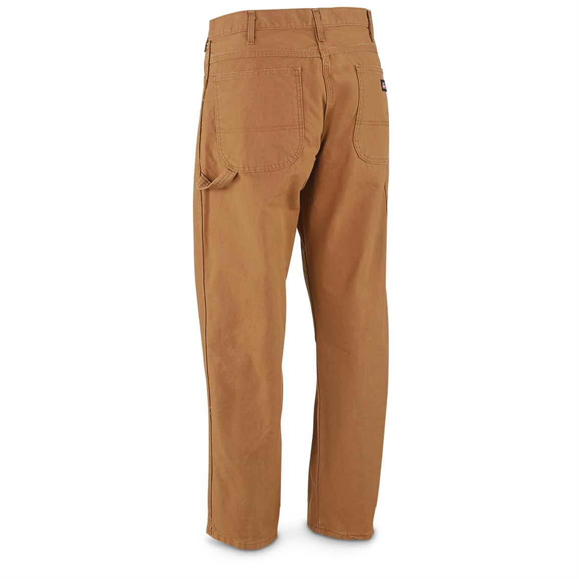 Duck cotton is durable and long-lasting for work