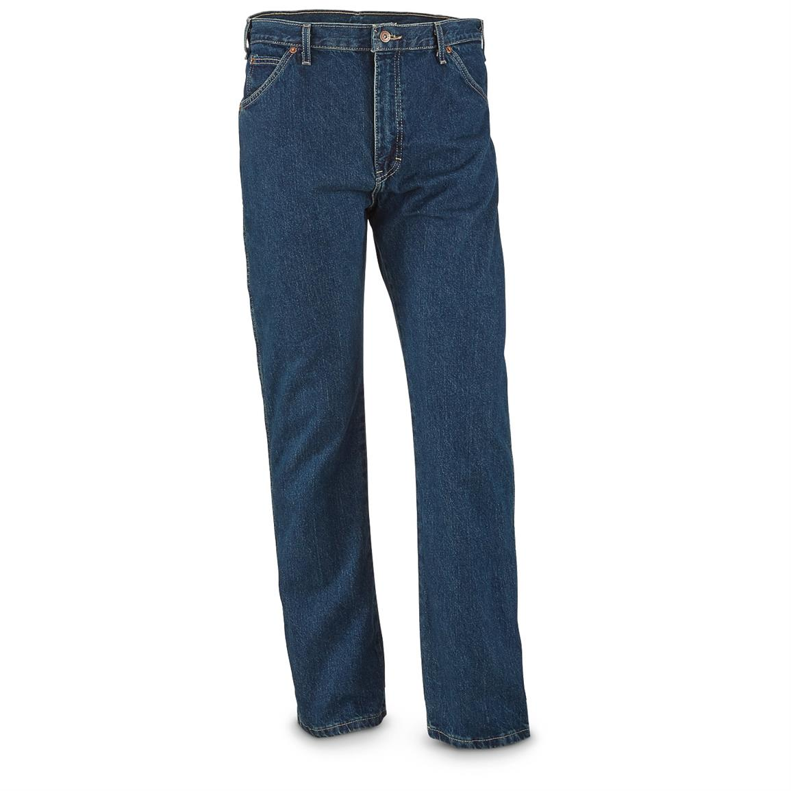 Dickies Men's Six-Pocket Western Jeans, Slight Irregulars, Heritage