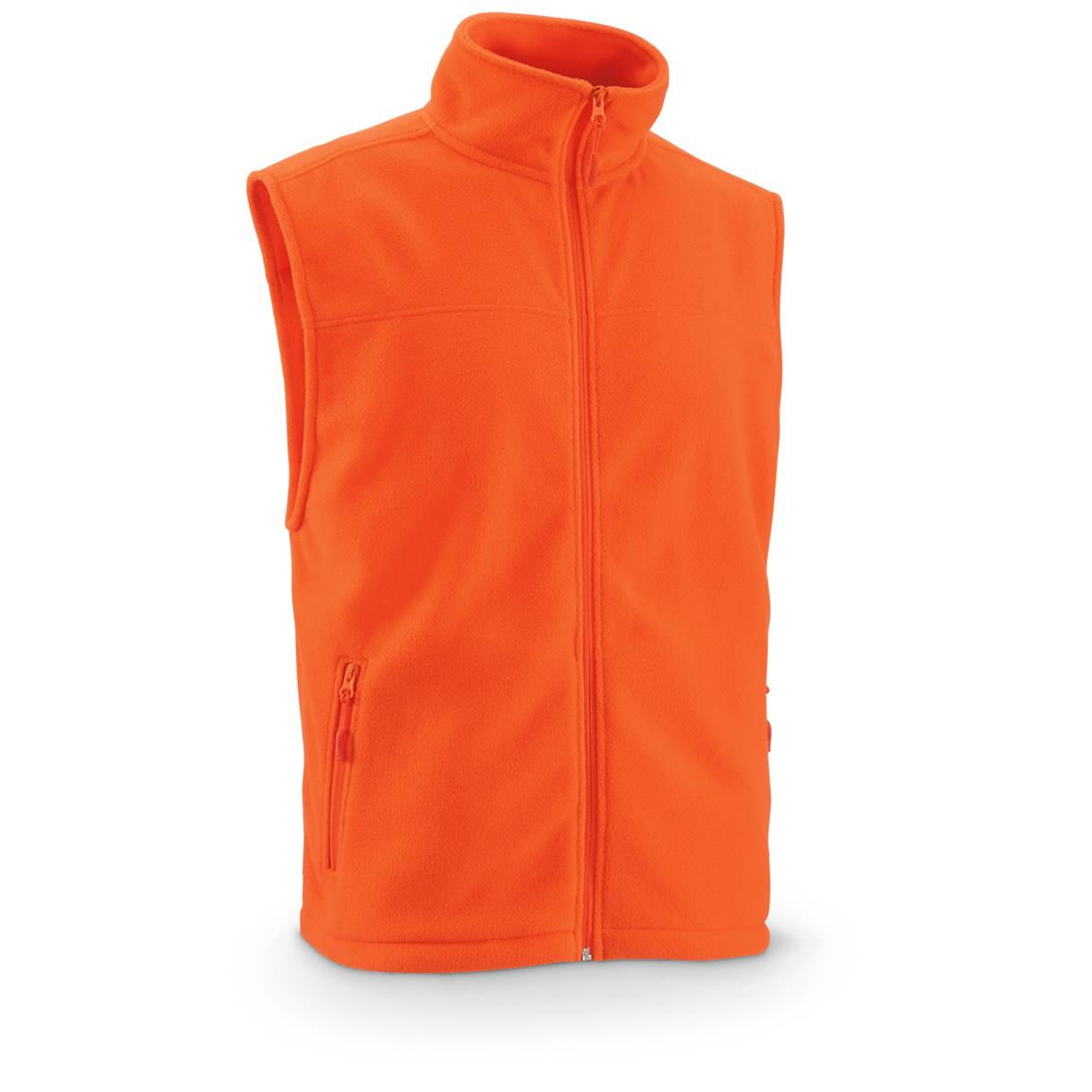 Guide Gear Men's Fleece Vest, Blaze