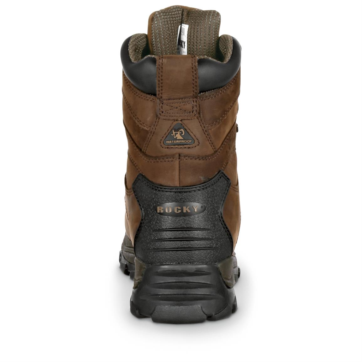 Guaranteed Rocky Waterproof construction for sure-dry comfort