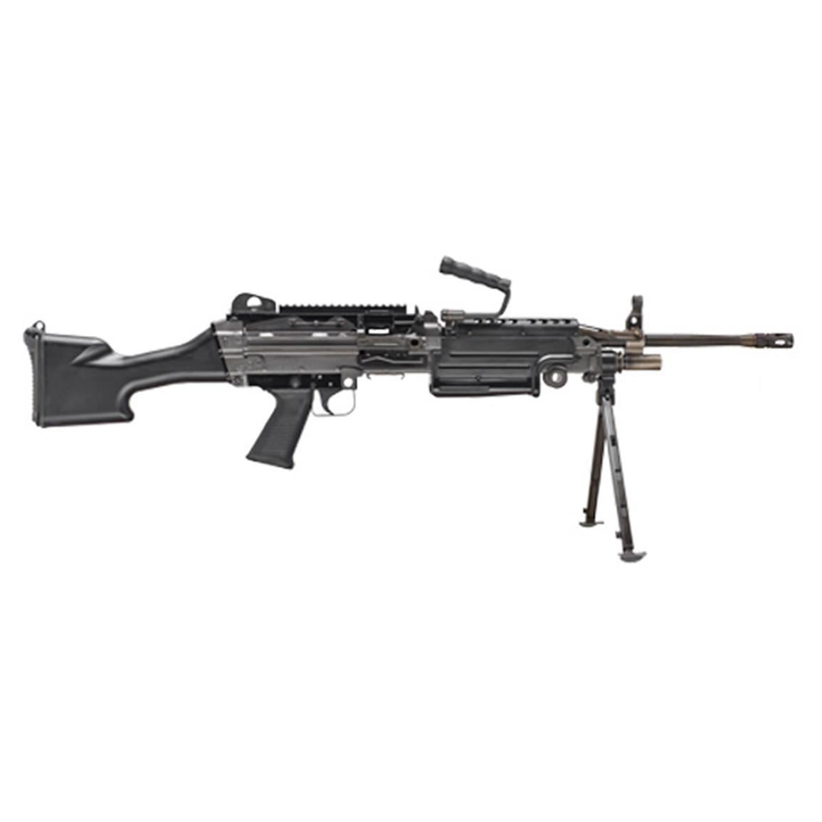 "FN M249S, Semi-Automatic, 5.56x45mm, 20.5"" Barrel, 30 Rounds"