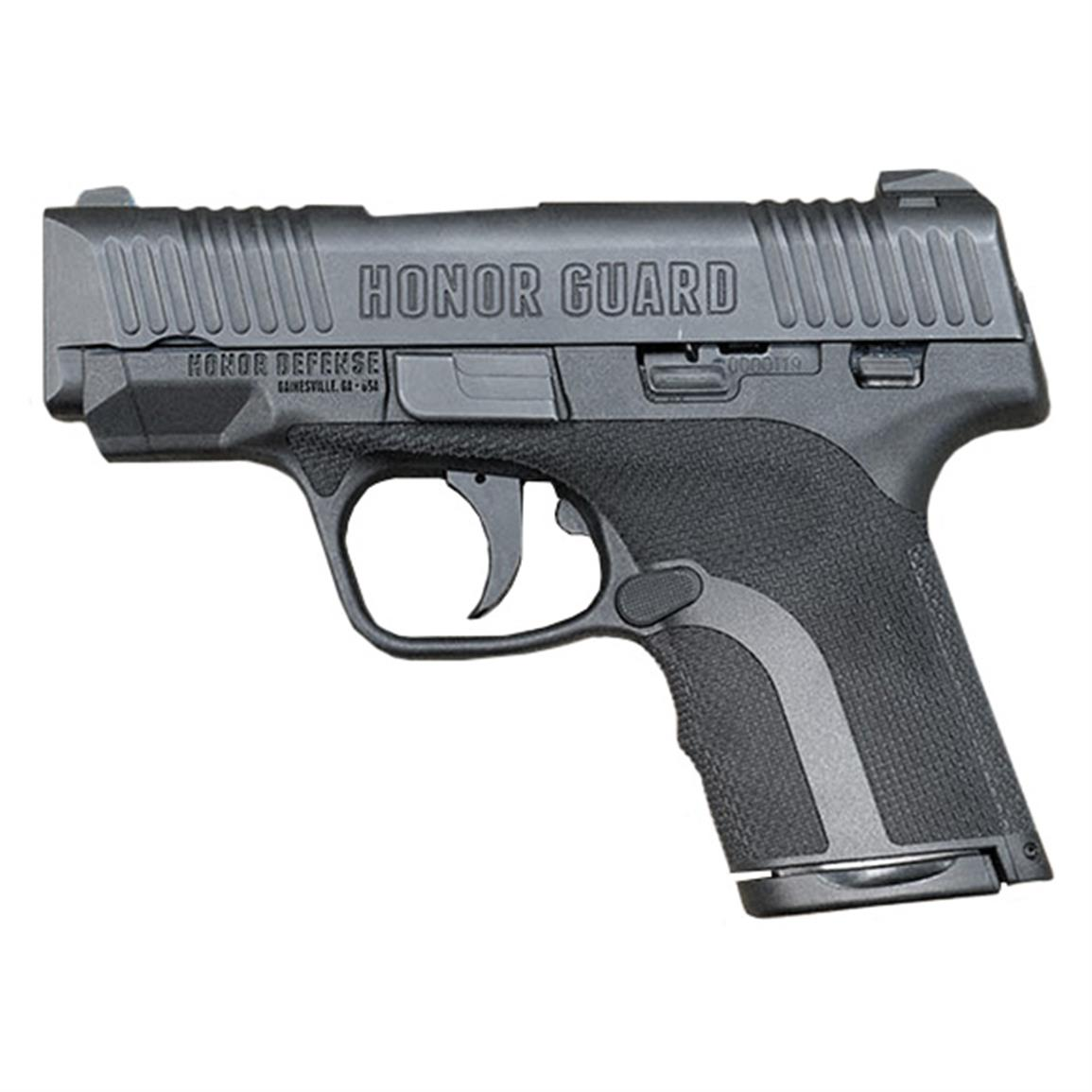 "Honor Guard Subcompact Long Slide, Semi-Automatic, 9mm, 3.8"" Barrel, 7+1 / 8+1 Rounds"