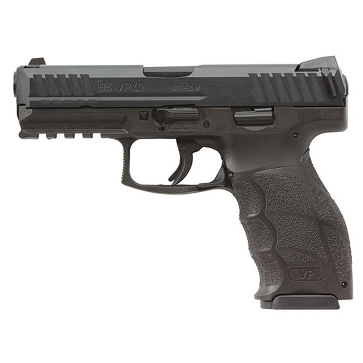 "Heckler & Koch VP40, Semi-Automatic, .40 Smith & Wesson, 4.09"" Barrel, 10+1 Rounds"