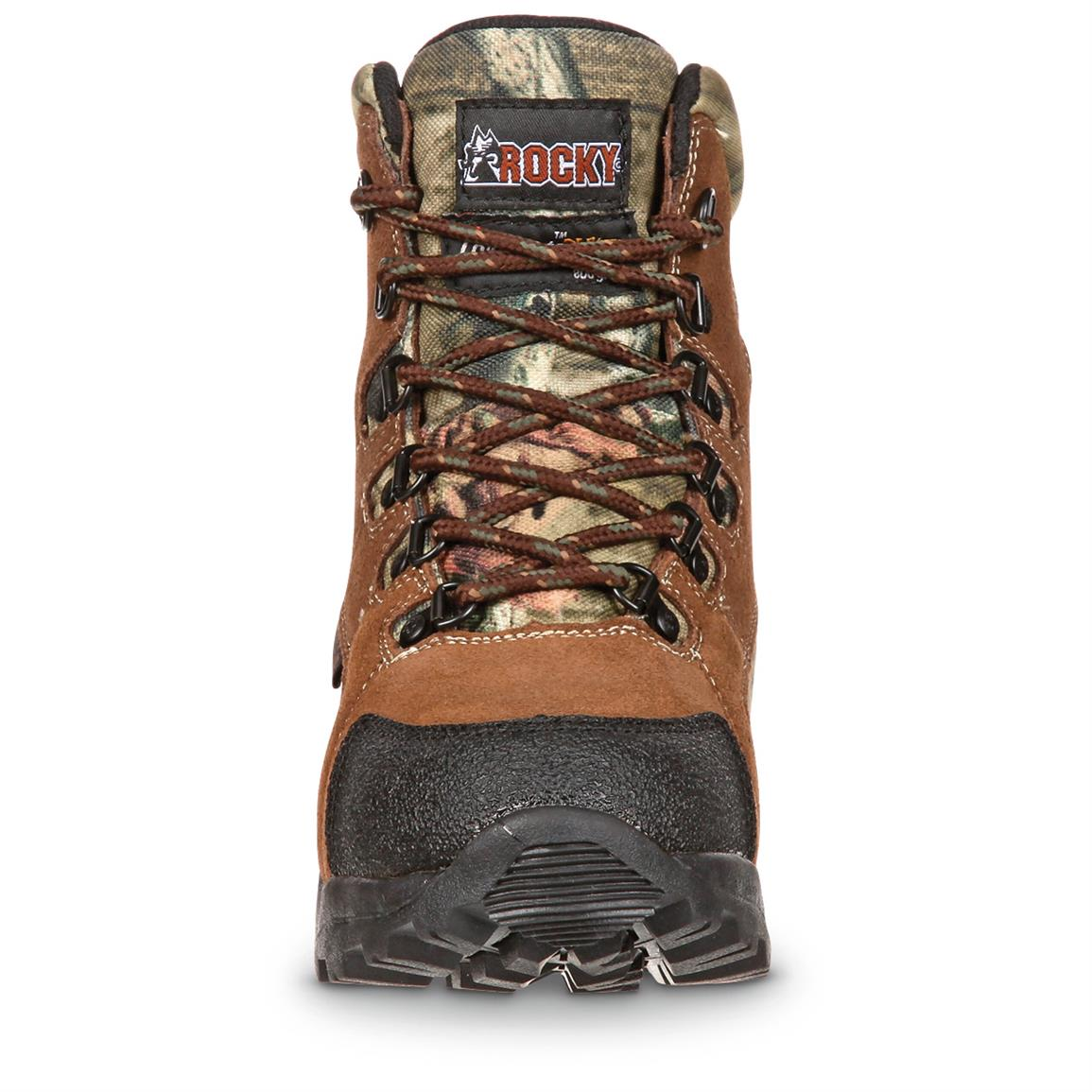 Guaranteed Rocky Waterproof construction for 100% sure-dry feet