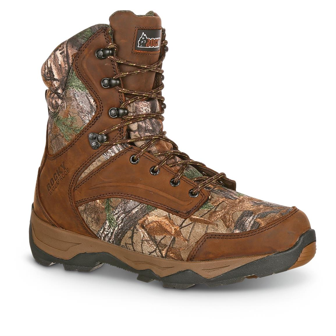 Rocky Retraction Men's Waterproof Insulated Hunting Boots