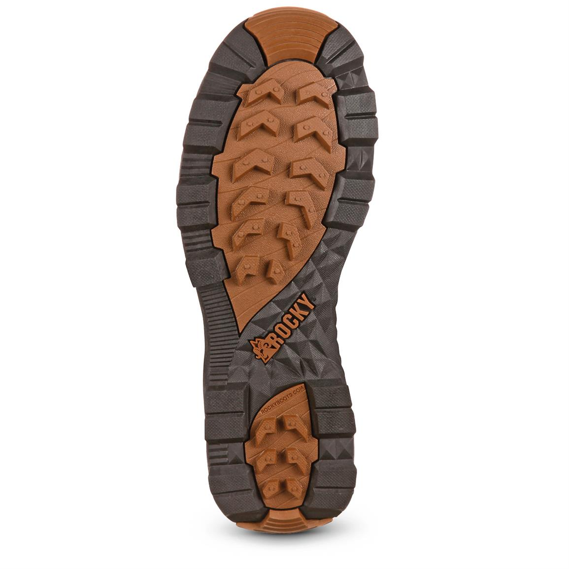 Rubber outsole offers excellent traction on a variety of surfaces