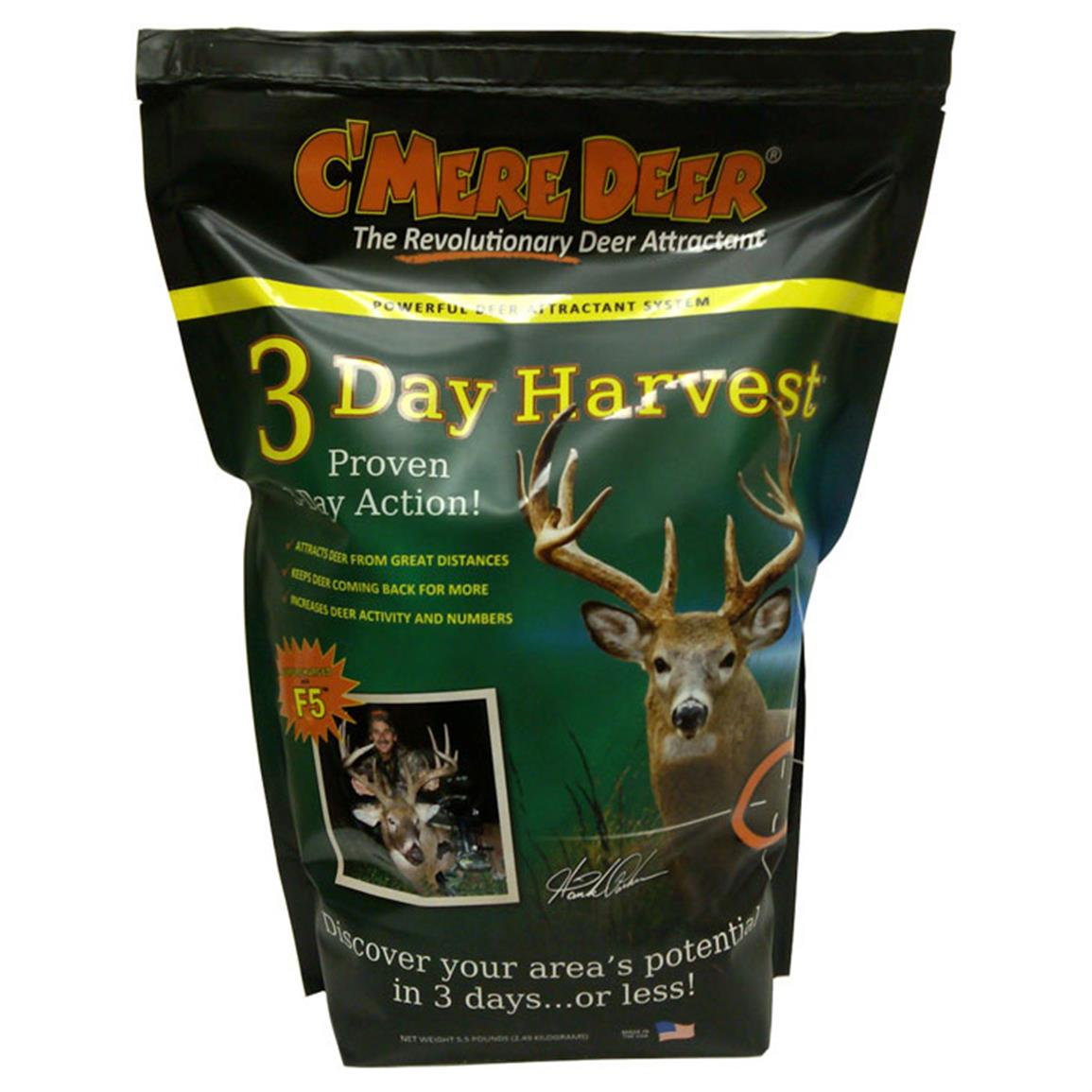 C'Mere Deer 3-Day Harvest, 5.5 lb. Bag