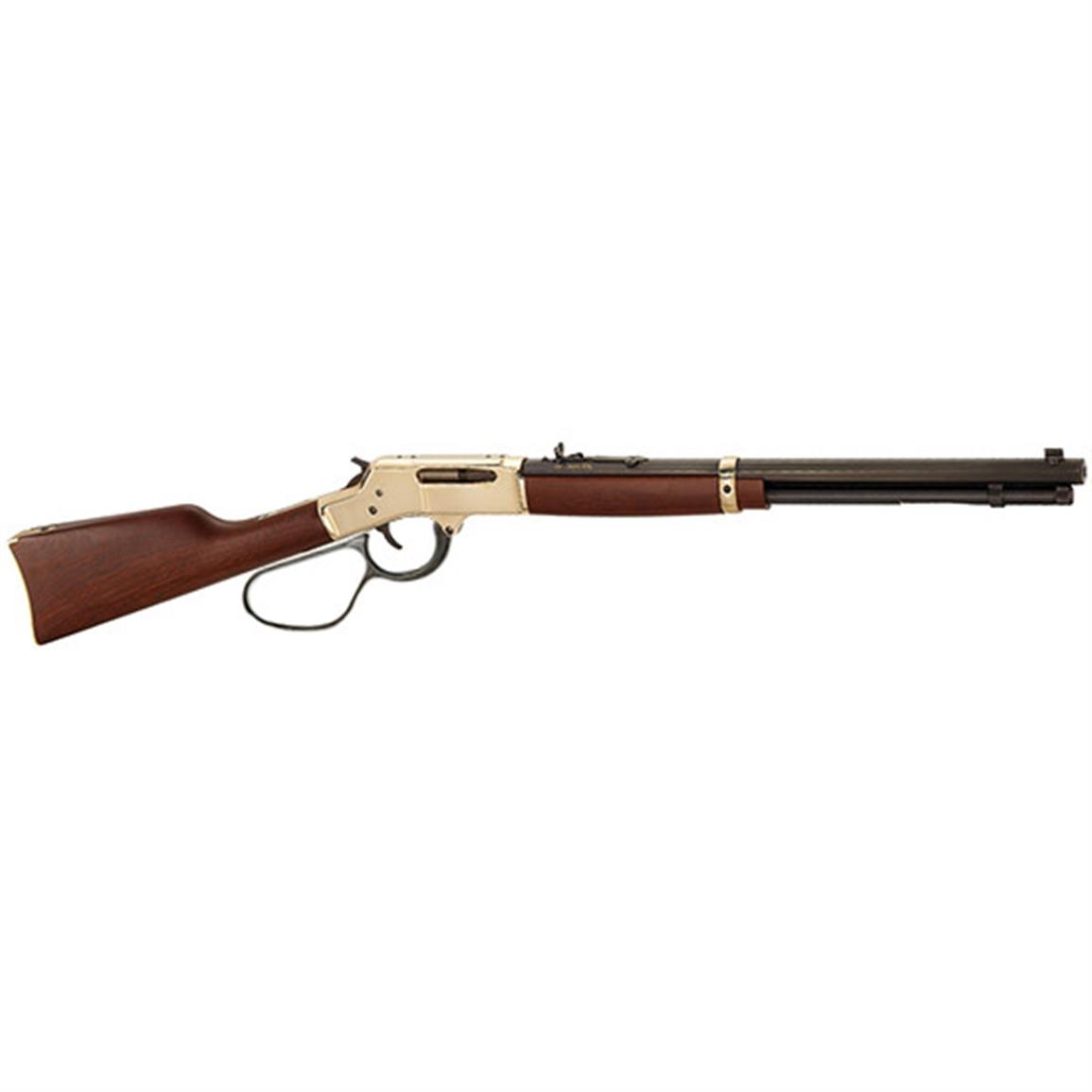 "Henry 30-30 Brass, Lever Action, .30-30 Winchester, Large Loop, 20"" Octagonal Barrel, 5 Rounds"