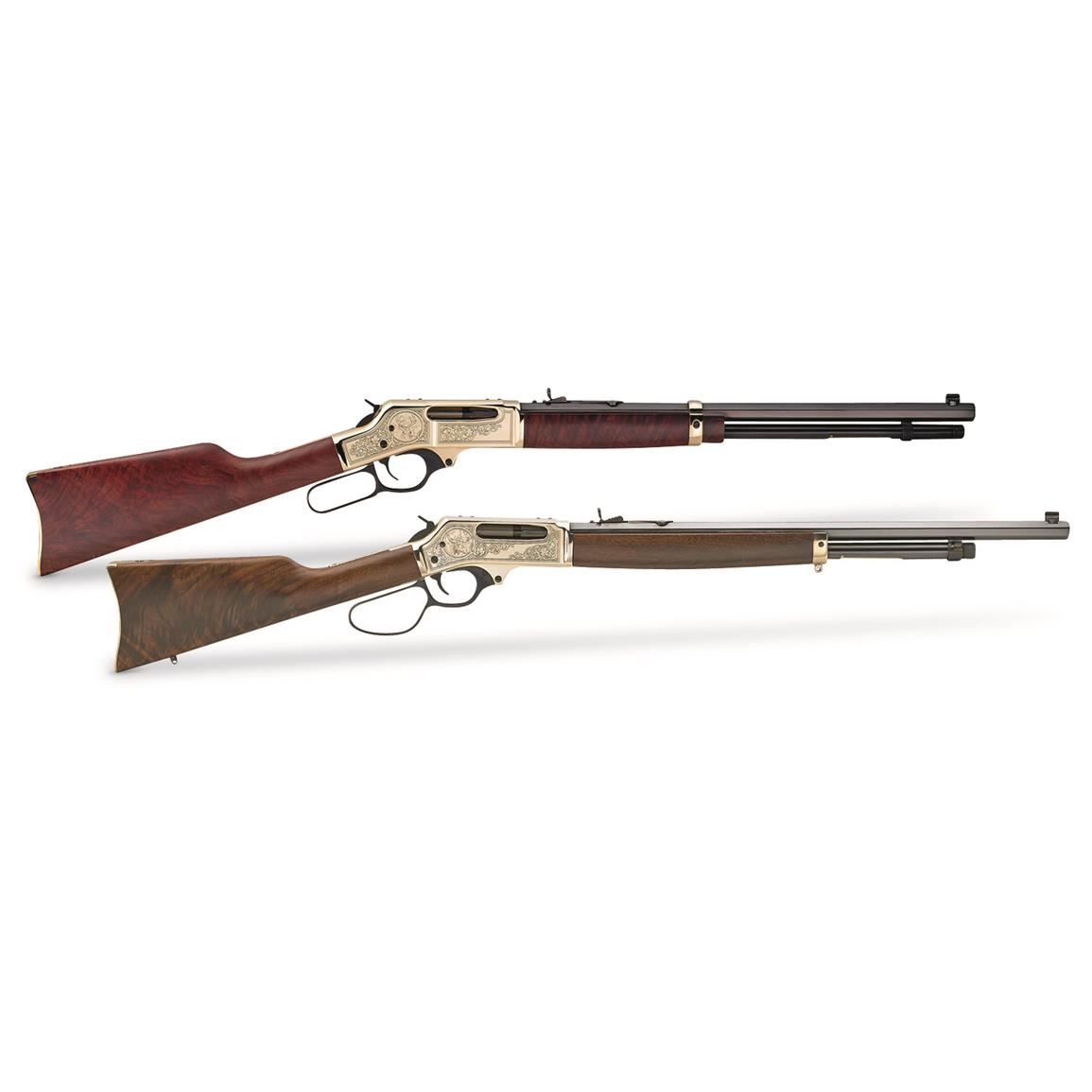 "Henry 45-70 Brass Wildlife Edition, Lever Action, .45-70 Government, 22"" Octagonal Barrel, 4 Rounds"