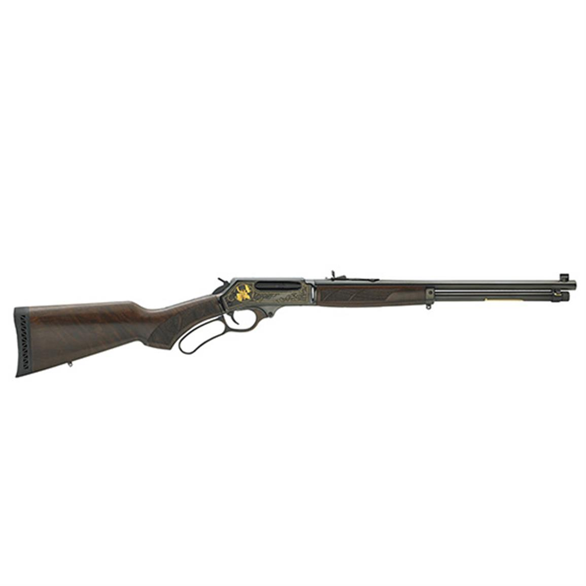 "Henry 45-70 Steel Wildlife Edition, Lever Action, .45-70 Government, 18"" Barrel, 4 Rounds"