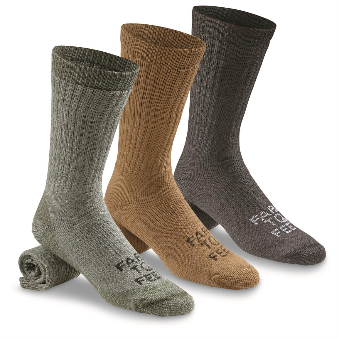Farm to Feet Columbus Medium-Weight Boot Socks