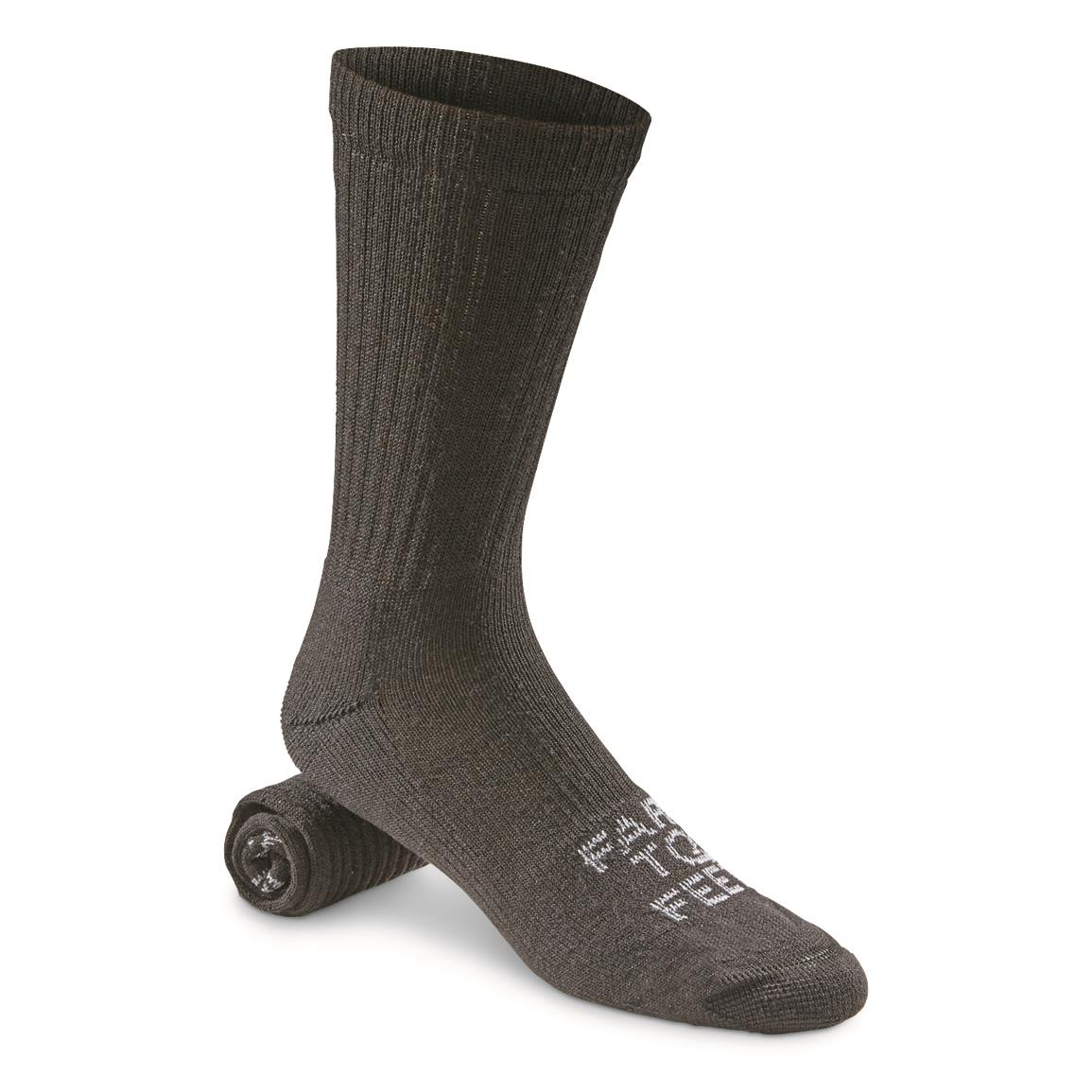 Farm to Feet Coronado Lightweight Crew Socks, Black