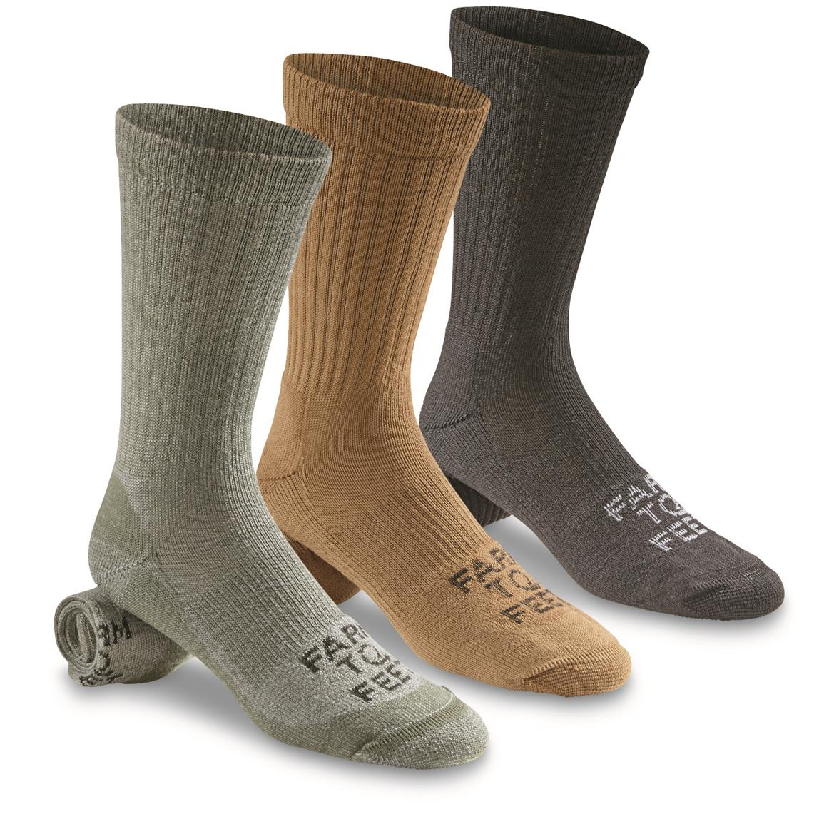 Farm to Feet Coronado Lightweight Crew Socks