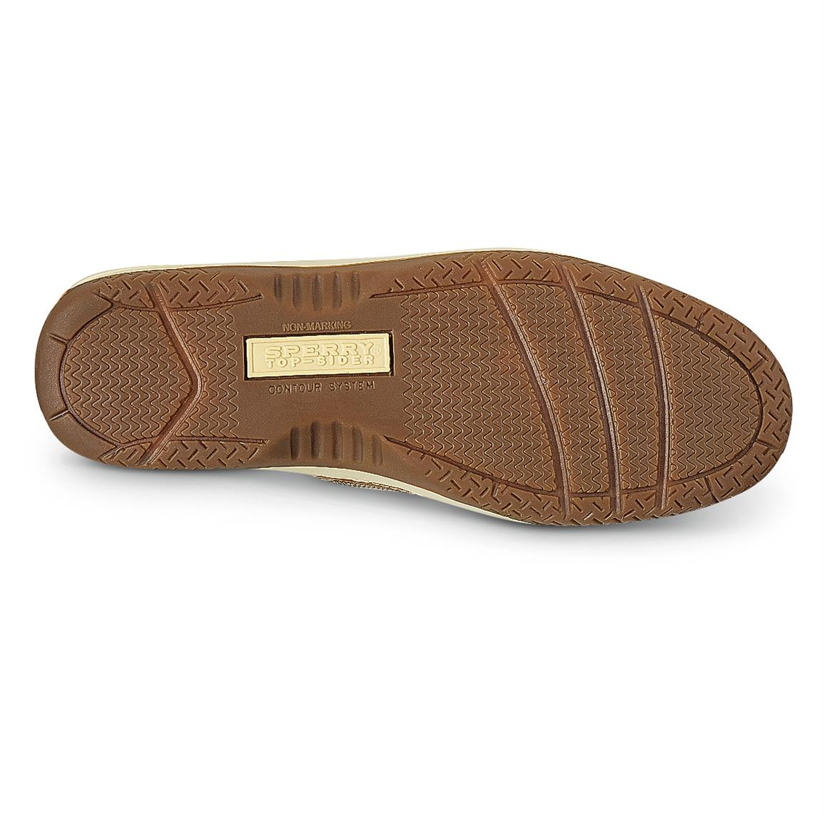 Non-marking rubber outsole with razor-cut wave siping for great wet / dry traction