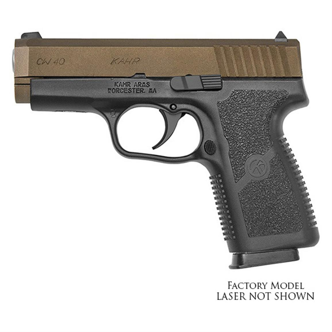 "Kahr CW40, Semi-Automatic, .40 Smith & Wesson, 3.6"" Barrel, 6+1 Rounds"