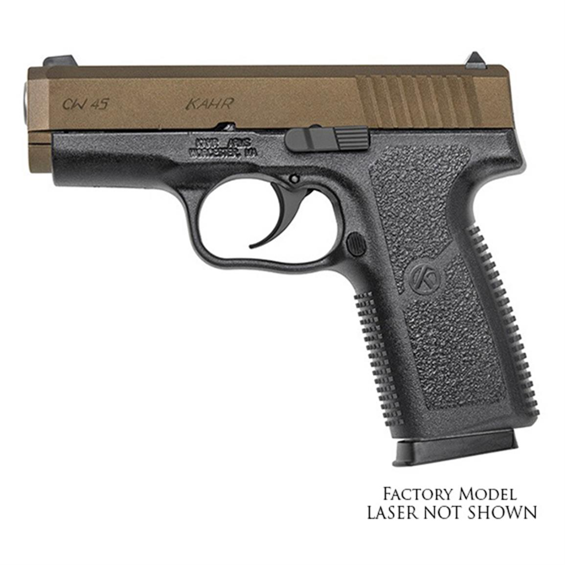"Kahr CW45 Supcompact, Semi-Automatic, .45 ACP, 3.6"" Barrel, 6+1 Rounds"