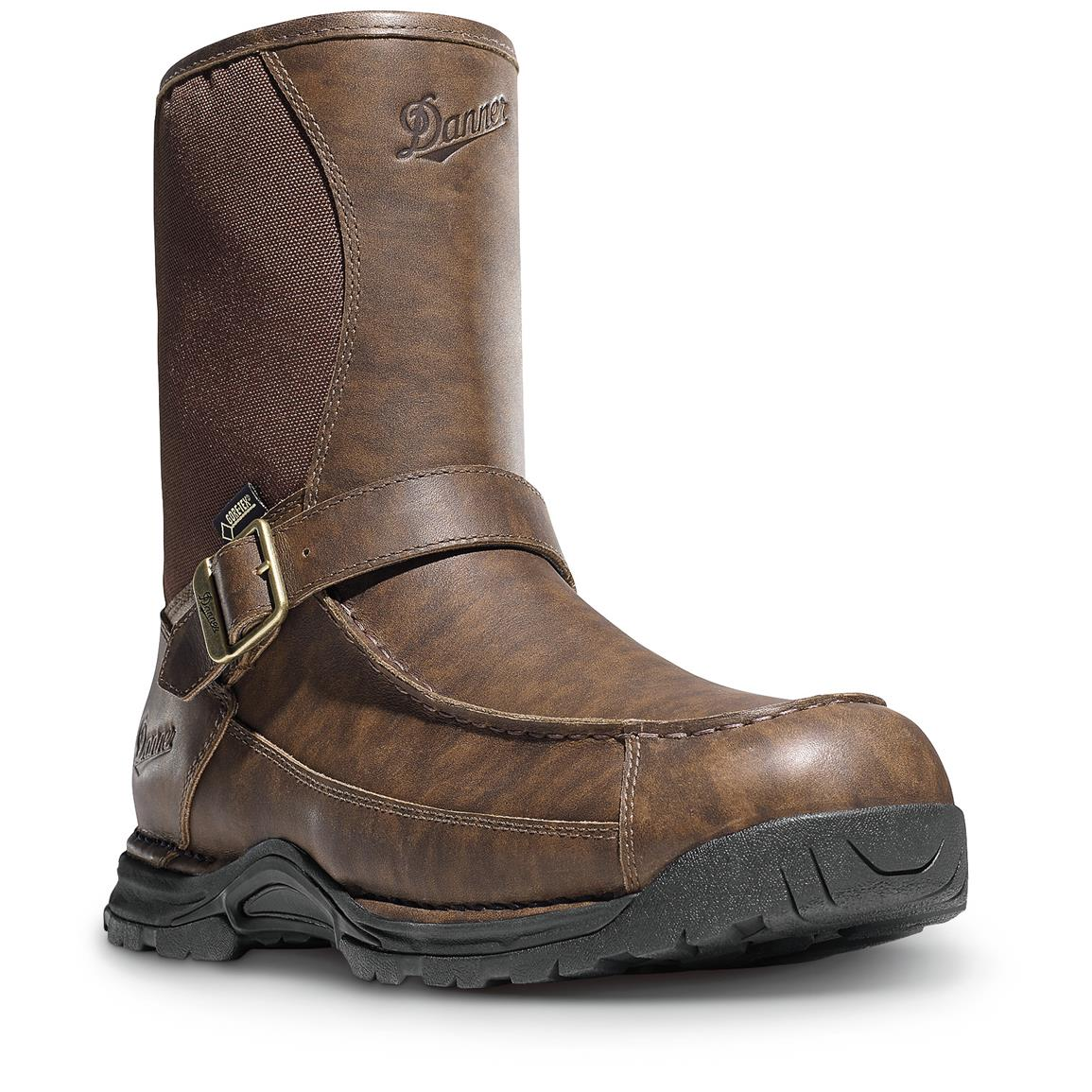 "Danner Men's Sharptail 10"" Rear Zip Waterproof Hunting Boots"