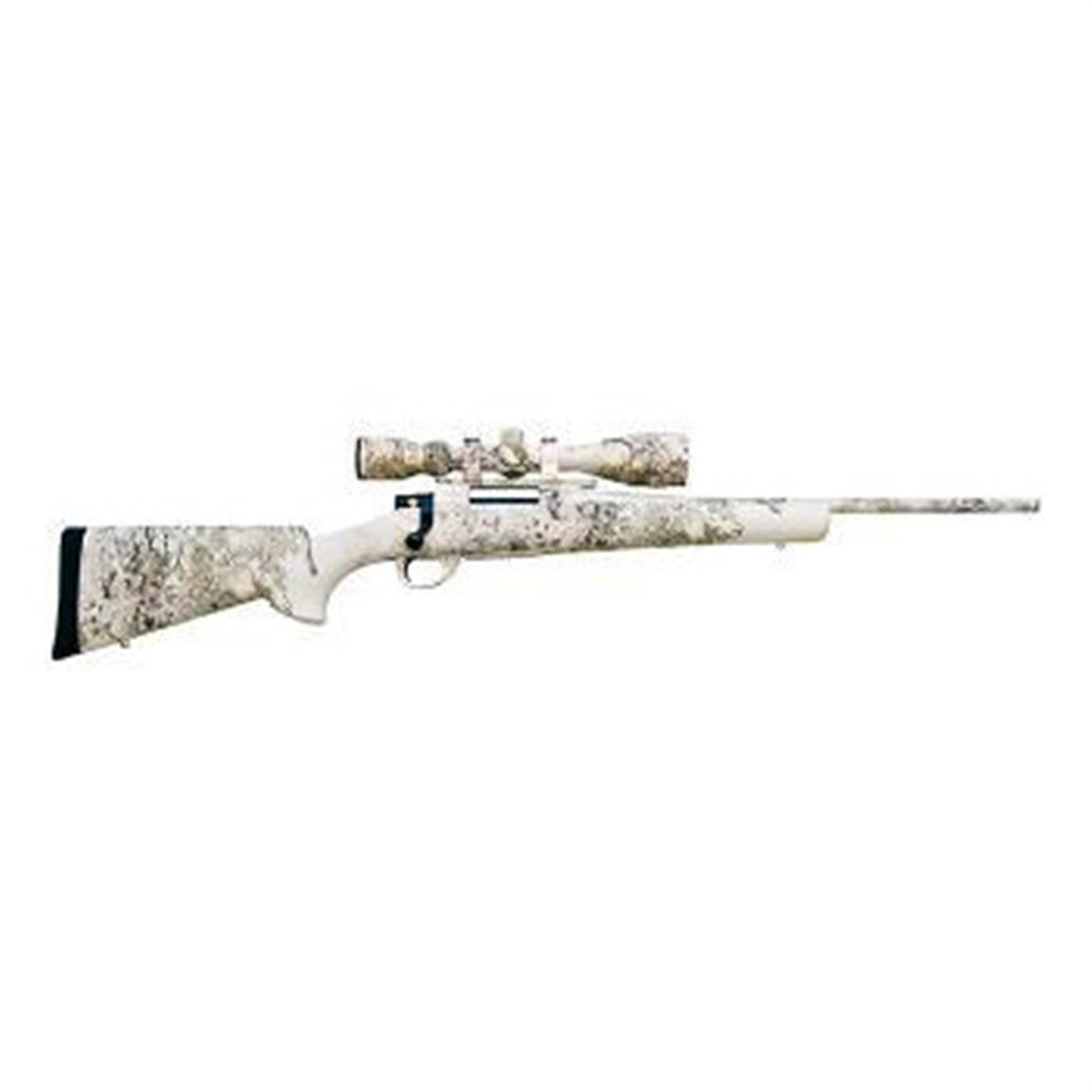 LSI Howa Hogue Snowking Package, Bolt Action, .308 Winchester, Nikko Stirling 4-16x44 Scope