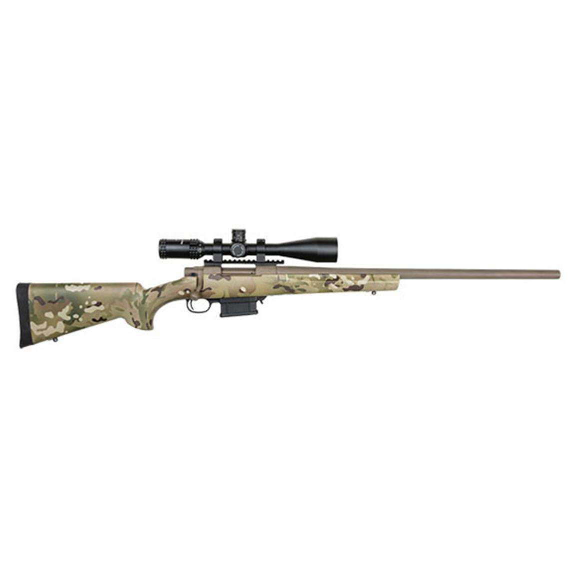 LSI Howa Multicam Package, Bolt Action, 6.5mm Creedmoor, 4-16x44mm Scope, 5+1 Rounds