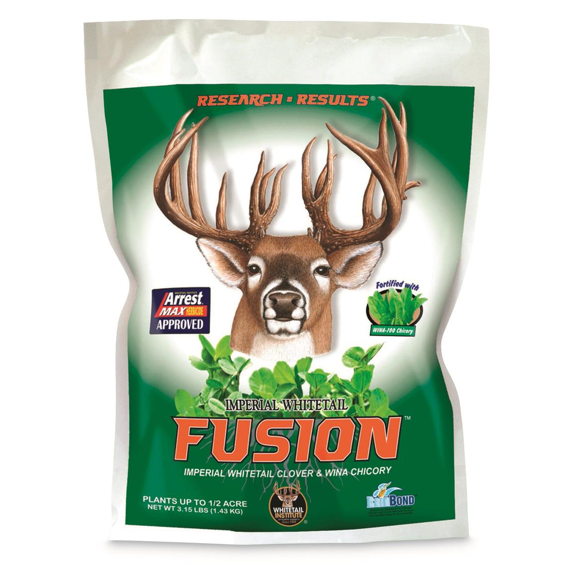 Whitetail Institute Imperial Whitetail Fusion Food Plot Seed, 3.15-lb. Bag