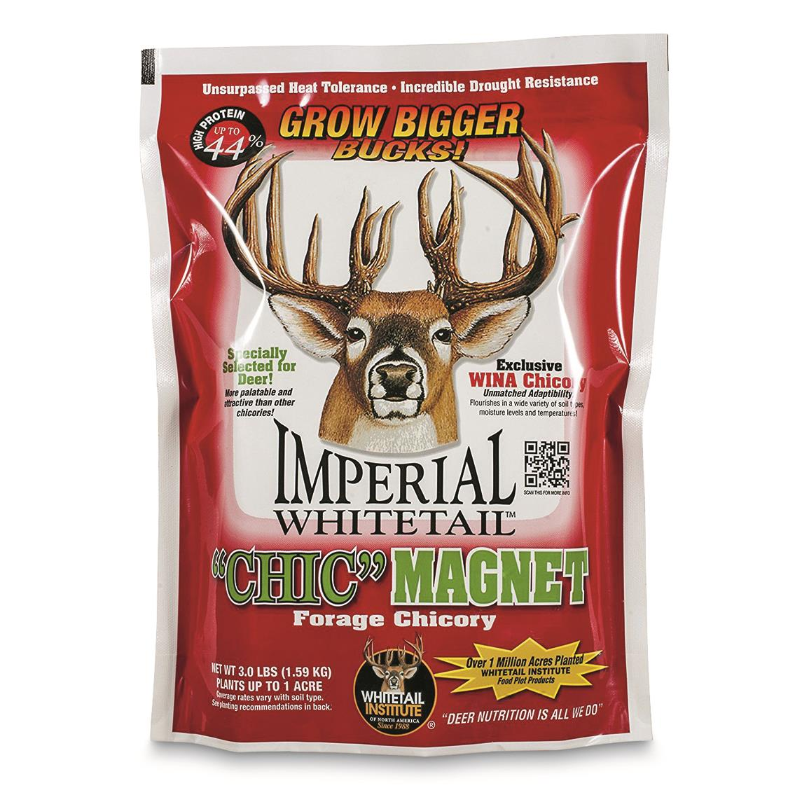 Whitetail Institute Chic Magnet Food Plot Seed, 3 lbs