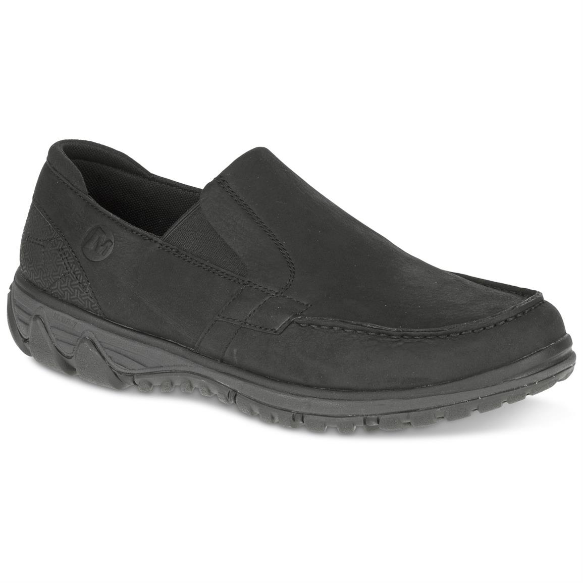 Merrell Men's All Out Blazer Moc Slip-on Shoes, Black