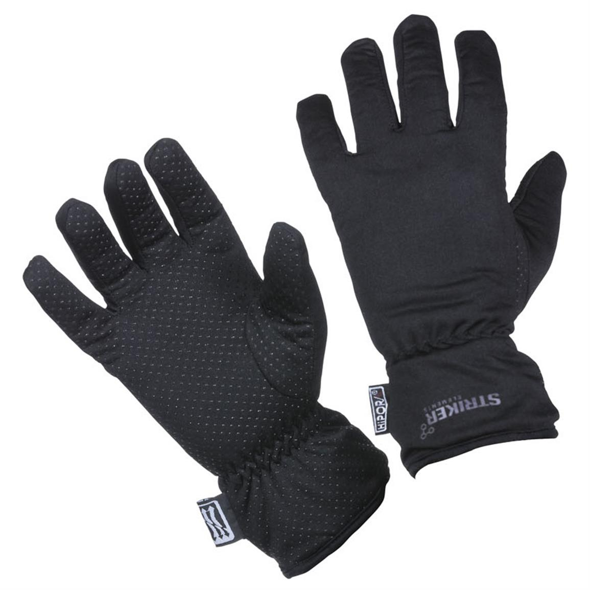 Striker Ice Second Skin Gloves, Black