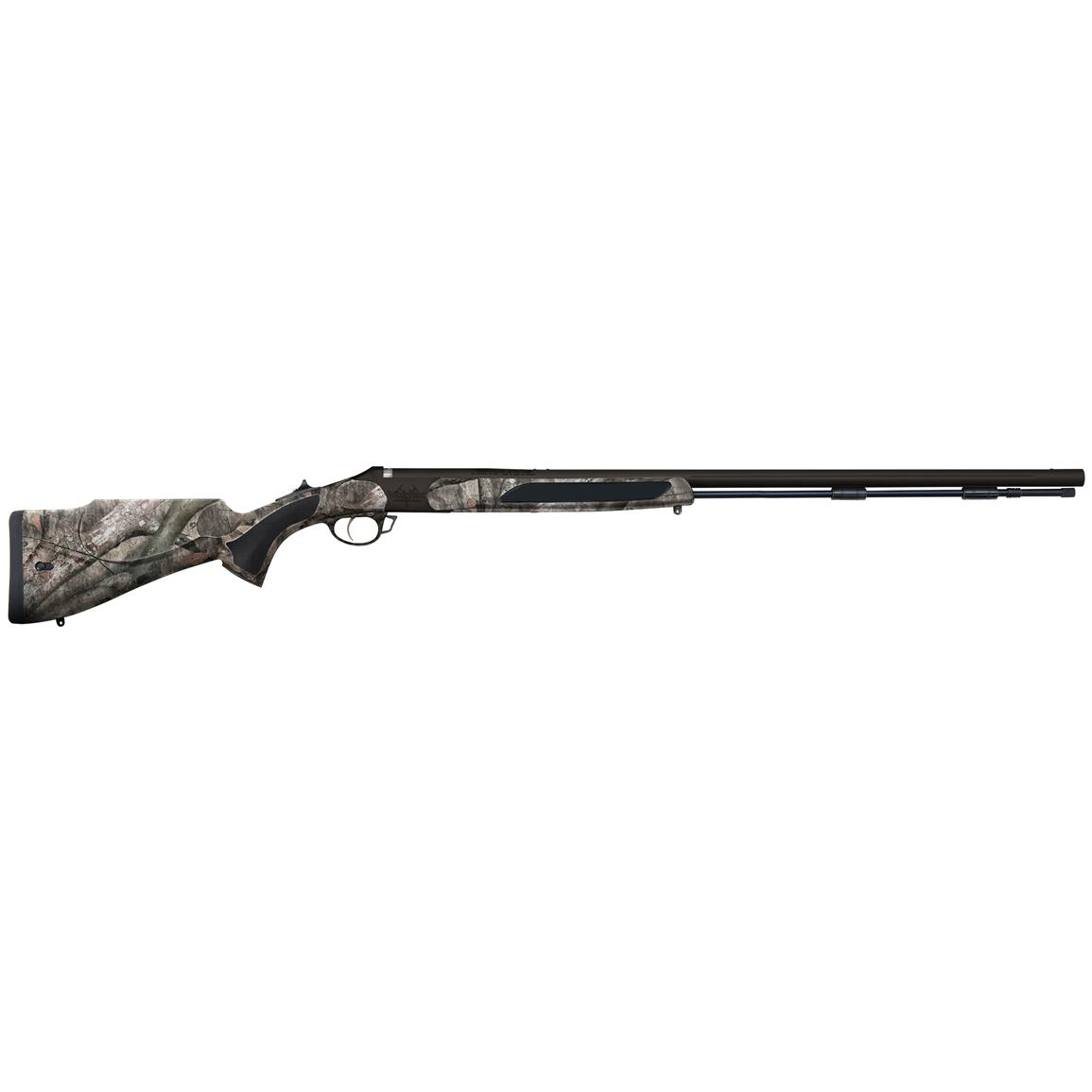 Traditions Vortek StrikerFire with Nitride Coating .50 caliber Muzzleloader, Mossy Oak Treestand